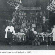Old photo of the market