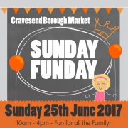 Sunday Funday poster sunday 25th june