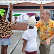 Circus skills in the market